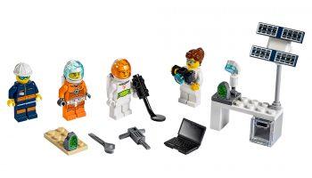 Officiële beelden LEGO City Mars Exploration Minifigure Pack (40345)