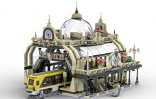 LEGO Ideas The Train Station: Studgate ontvangt 10.000 stemmen
