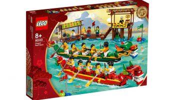 LEGO 80103 Dragon Boat Race komt op 1 juni naar Europa