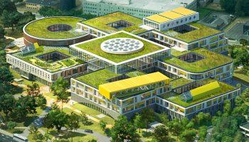Nieuwe LEGO-campus in Billund krijgt steeds meer vorm