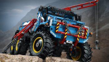 LEGO Technic 6×6 Allterrain-sleepwagen (42070) voor €179,- bij Amazon