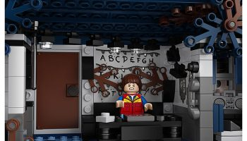 LEGO publiceert toffe video's van The Stranger Things LEGO 75810 The Upside Down