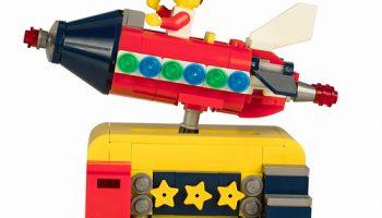 Gratis LEGO Ideas 40335 Space Rocket Ride nog tot en met 30 juni beschikbaar