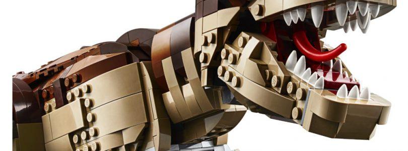 LEGO Jurassic World 75936 Jurassic Park T. rex Rampage nu beschikbaar voor VIP-leden