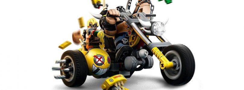 Afbeeldingen LEGO Overwatch 75976 Wrecking Ball en 75977 Junkertown Bike gepubliceerd