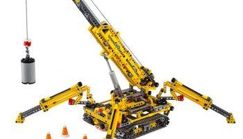 Officiële beelden LEGO Technic 42098 Compact Crawler Crane gepubliceerd