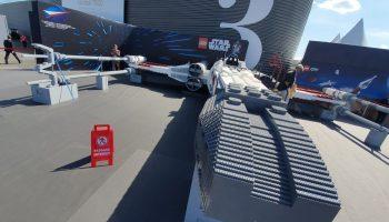 LEGO heeft Star Wars X-Wing Starfighter op ware grootte nagebouwd voor Paris Air Show