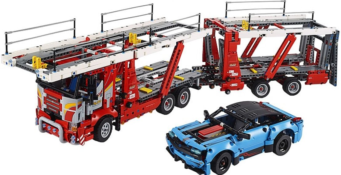 LEGO Technic 42098 Car Transporter in de aanbieding: nu slechts 100 euro