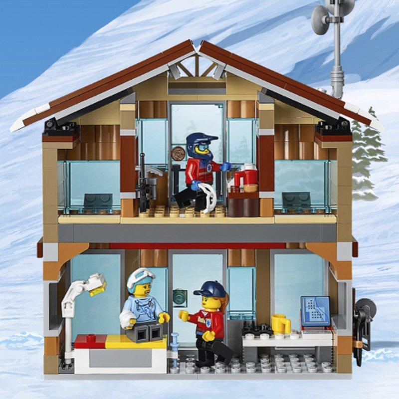Officiële afbeeldingen LEGO City 60203 Ski Resort