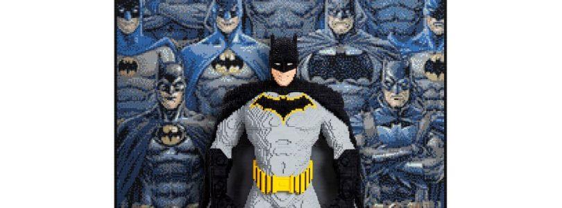 Batman is LEGO's derde levensgrote standbeeld voor San Diego Comic-Con 2019