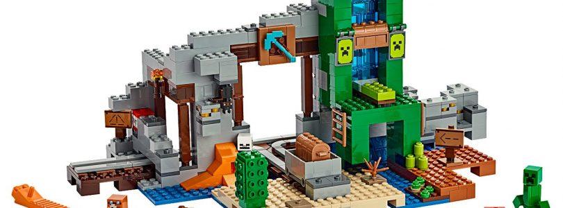 Drie nieuwe LEGO Minecraft-sets te koop: 21153, 21154 en 21155