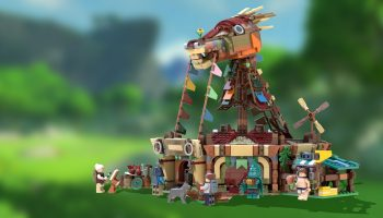 LEGO Ideas-project The Legend Of Zelda: Breath of The Wild Stable ontvangt vereiste support