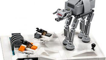 LEGO 40333 Battle of Hoth Diorama wordt in september opnieuw cadeau bij aankoop