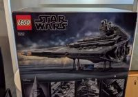 Dit is de LEGO Star Wars 75252 Imperial Star Destroyer: foto van verpakking gelekt