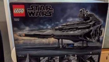 Dit is de LEGO Star Wars 75252 Imperial Star Destroyer: foto van verpakking gelekt