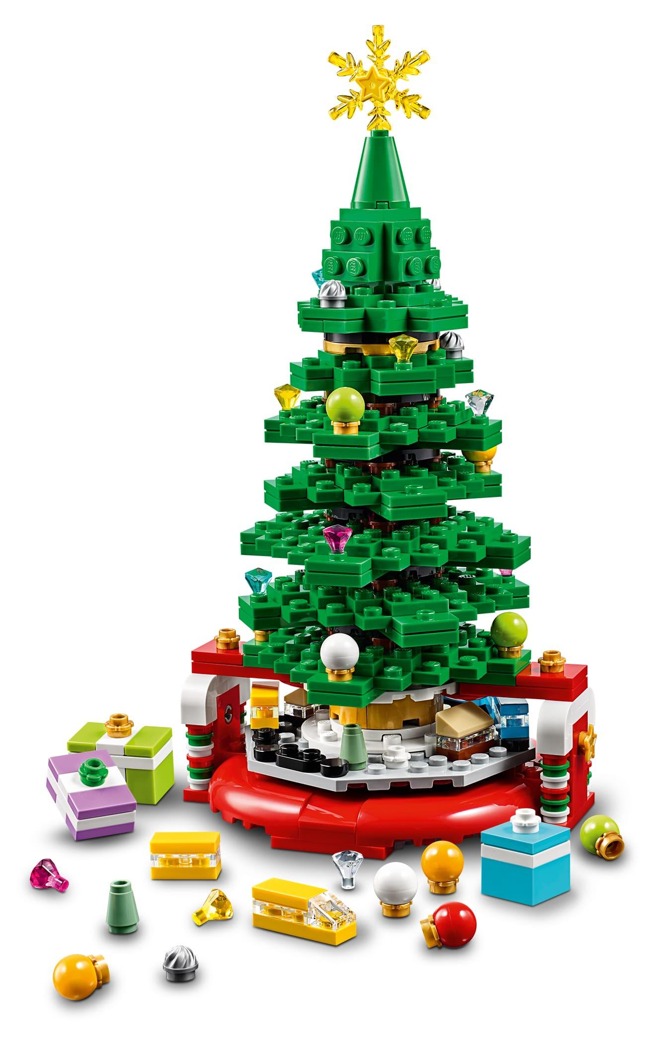 lego seasonal 40338 christmas tree limited edition wordt