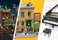 LEGO Ideas krijgt drie nieuwe sets: The Pirate Bay, 123 Sesame Street en de Playable Piano
