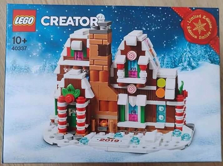 Ready to Ship! LEGO 40337 Limited Edition Mini Gingerbread House