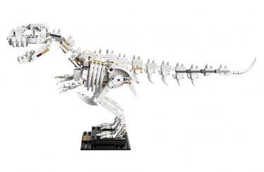 Designervideo LEGO Ideas 21320 Dinosaurs Fossils beschikbaar gemaakt