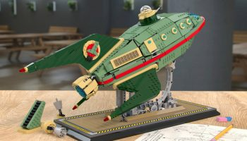Futurama's Planet Express Delivery Ship bereikt 10.000 supporters op LEGO Ideas