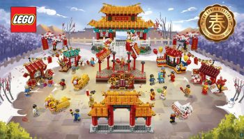 LEGO 80104 Lion Dance en LEGO 80105 Chinese New Year Temple Fair nu te koop
