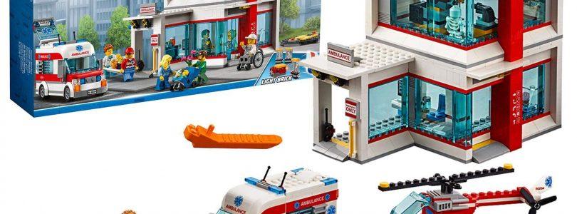 LEGO City ziekenhuis (60204) in de aanbieding voor €54,99 bij Amazon