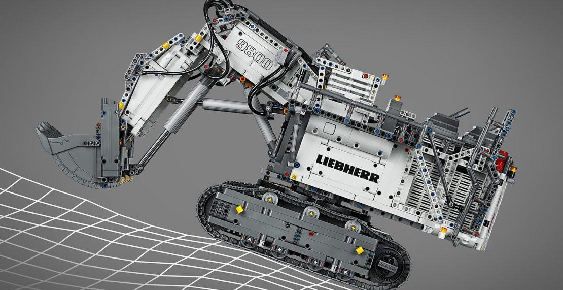 LEGO Technic 42100 Liebherr R9800 bereikt laagste prijs ooit: 329 euro