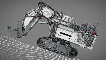 LEGO Liebherr R 9800 Graafmachine (42100) in de aanbieding bij Amazon (verlopen)