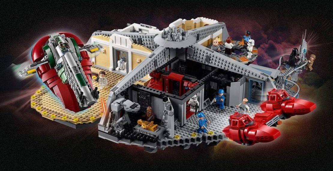 LEGO Black Friday 2019: aanbiedingen van 1 december met onder andere Star Wars Cloud City (75222)