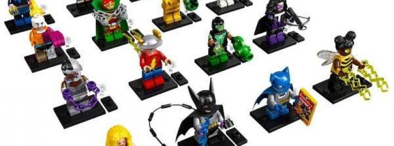 Dit zijn de 16 minifiguren van de LEGO 71026 DC Collectible Minifigures-serie