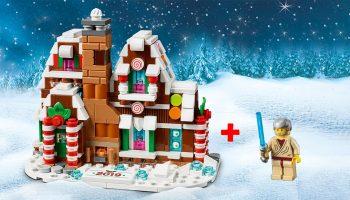 LEGO Shop 2019-kerstpromoties: LEGO 40337 Gingerbread House, Obi-Wan Kenobi-polybag en dubbele VIP-punten