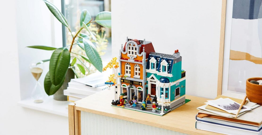 LEGO Creator Expert 10270 Boekenwinkel nu ook in vrije handel: €149 bij Bol.com
