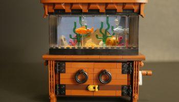 LEGO Ideas-project Clockwork Aquarium bereikt vereiste support