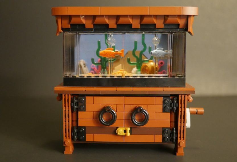 LEGO Ideas-project Clockwork Aquarium bereikt vereiste support