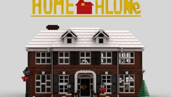 LEGO Ideas-project Home Alone McCallister's House bereikt vereiste support