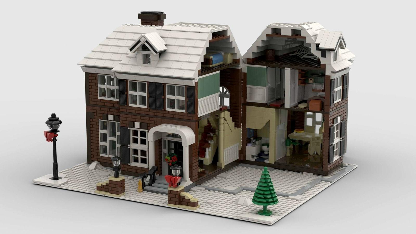 LEGO Ideas-project Home Alone McCallister's House bereikt ...
