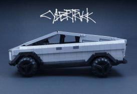 Tesla's Cybertruck nu als project beschikbaar op LEGO Ideas