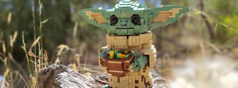 'Baby Yoda krijgt later dit jaar eigen LEGO BrickHeadz-set'