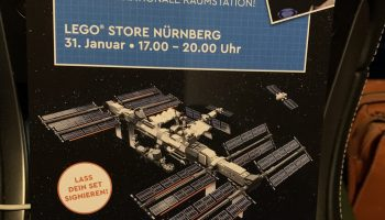 Eerste foto van definitieve ontwerp LEGO Ideas 21321 NASA International Space Station