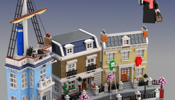 LEGO Ideas-project Mary Poppins, Cherry Tree Lane eerste set in 2020 met 10.000 supporters