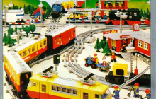 LEGO Train 40 Years 40730 en LEGO Creator Expert 10271 Fiat 500 per direct beschikbaar