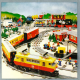 LEGO Train 40 Years 40730 en LEGO Creator Expert 10271 Fiat 500 per direct beschikbaar