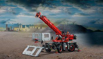 LEGO Technic 42082 Kraan voor alle terreinen in de aanbieding voor slechts 135 euro