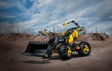 LEGO City 60197 Passagierstrein, LEGO Technic 42097 Rupsband Kraan en 42081 Volvo ZEUX in de aanbieding