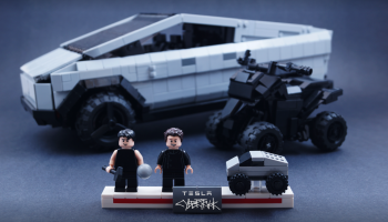 LEGO Ideas-project Tesla Cybertruck bereikt 10.000 stemmen