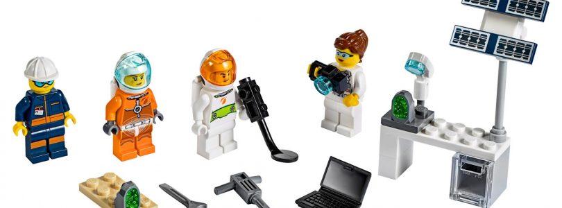 Gratis LEGO City-minifigurenpakket (40345) bij aanschaf geselecteerde ruimtesets
