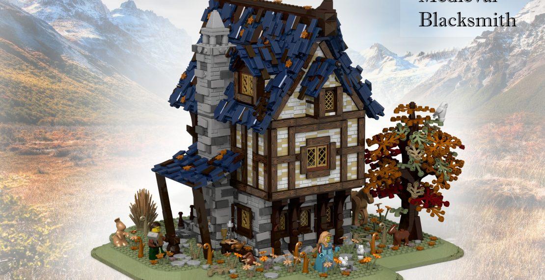 'LEGO Ideas 21325 Medieval Blacksmith vanaf februari 2021 te koop'