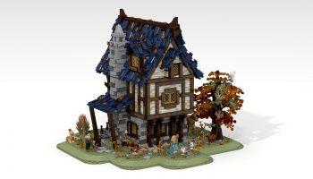 Nieuwe beelden LEGO Ideas 21325 Medieval Blacksmith verschenen