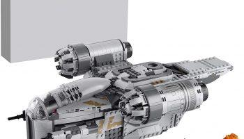 LEGO Star Wars 75292 The Razor Crest met Baby Yoda gedemonstreerd in video