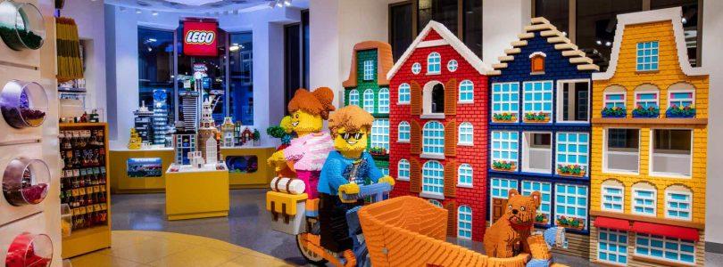 LEGO sluit fysieke winkels, online LEGO Shop blijft open